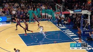 2nd Quarter, One Box Video: New York Knicks vs. Charlotte Hornets