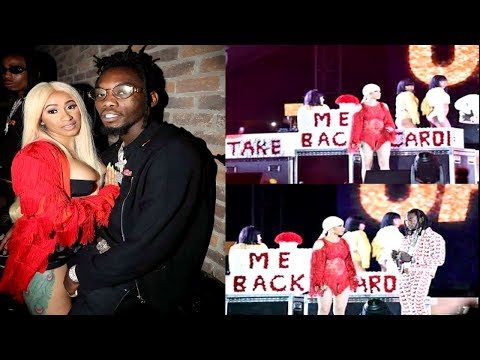 Cardi B & Offset 'Do You Think They Will Get Back Together?