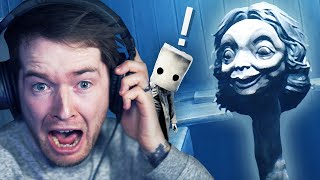 This School Teacher is SCARY! (Little Nightmares II Full Game)
