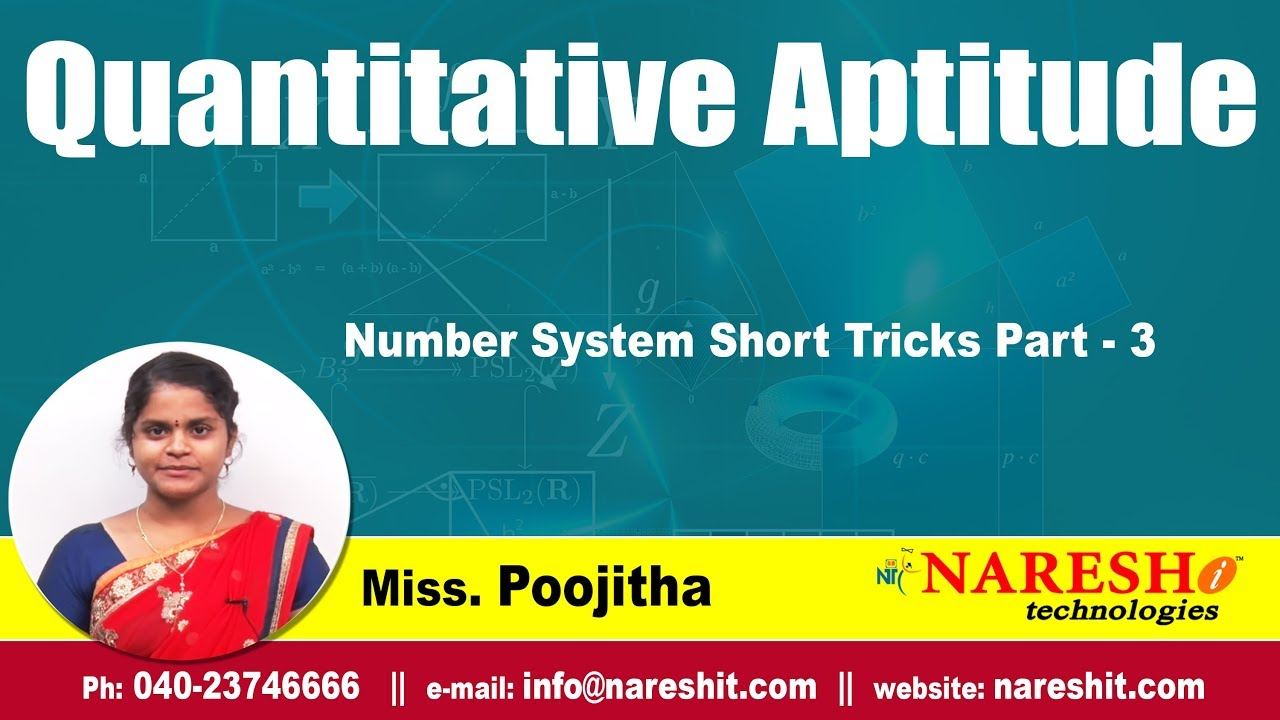 Quantitative aptitude average tutorial (study material).