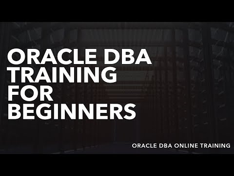 Oracle DBA Training For Beginners - Oracle DBA Online Training