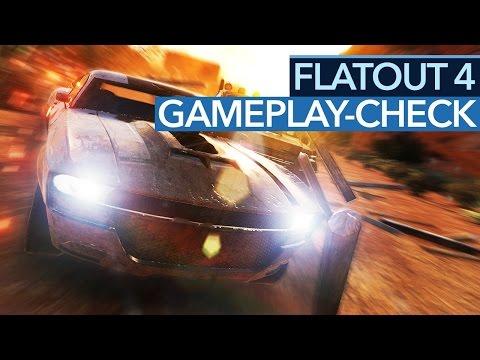 Flatout 4: Total Insanity - Wieder für die Schrottpresse? - Gameplay-Check