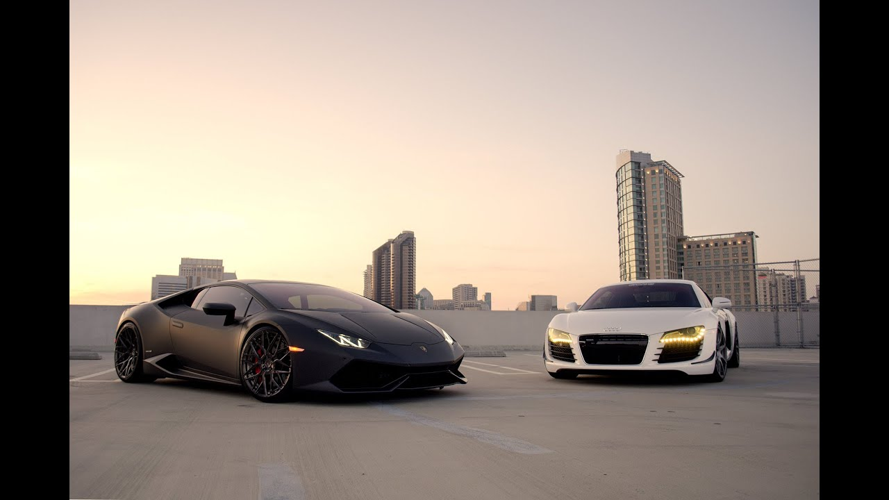 Lamborghini Huracan Vs Porsche 911 Turbo Vs Audi R8 V10