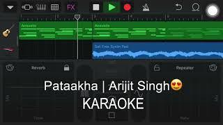 Naina Banjare | Karaoke Track | Pataakha | Arijit Singh | Instrumental
