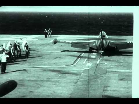 F-0048 Blue Angels Land Aboard Ship Video