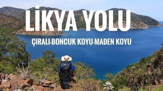 LİKYA YOLU/ÇIRALI-BONCUK KOYU-MADEN KOYU