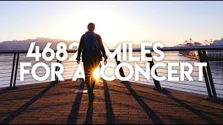 4682 Miles for a Concert | Odesza Red Rocks 2017 | Travel Film