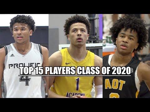 TOP 15 PLAYERS Class Of 2020! Jalen Green, Cade Cunningham, Sharife Cooper Etc!
