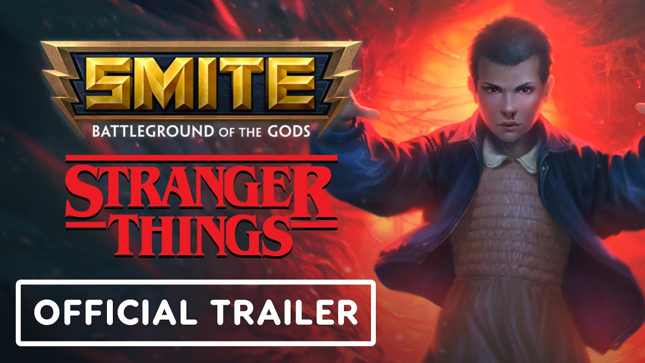Smite x Stranger Things Crossover - Official Trailer | Summer of Gaming 2021 - IGN