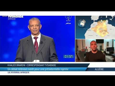 Algérie : Un Débat Télé Inédit Mais Peu Attendu Entre Les 5 Candidats à L'élection Présidentielle