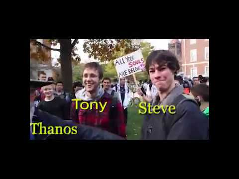 Avengers As Iconic Vines