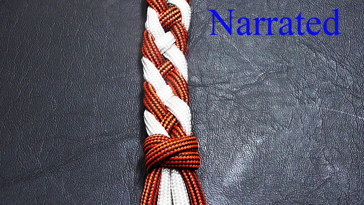 How To Finish Off A Braid With A Double Connection Knot