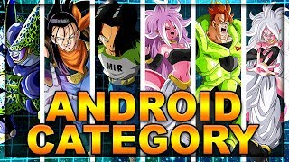 The *ANDROID* category is unstoppable! Best global team showcase! | Dragon Ball Z Dokkan Battle