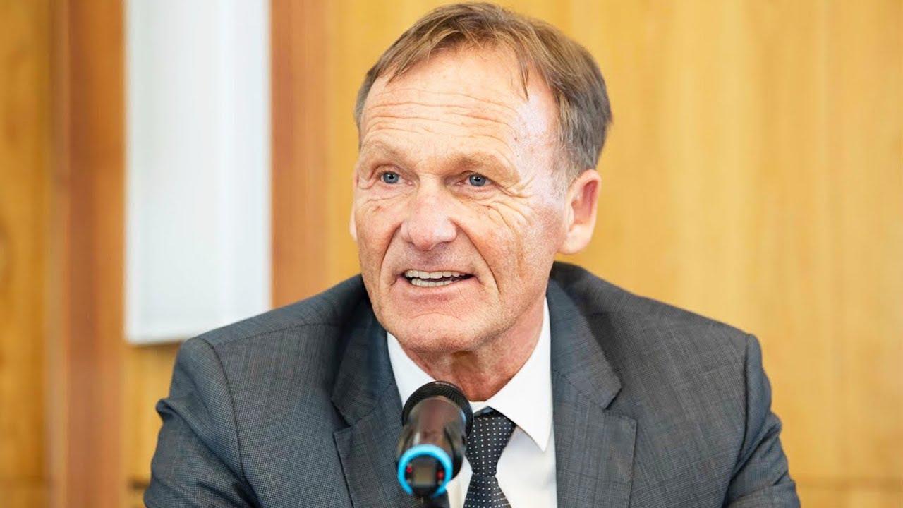 BVB unterstützt Gedenkstätte Yad Vashem mit 1 Million Euro   PK mit Hans-Joachim Watzke