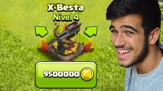 PRIMEIRA X-BESTA NÍVEL 5 - CLASH OF CLANS!
