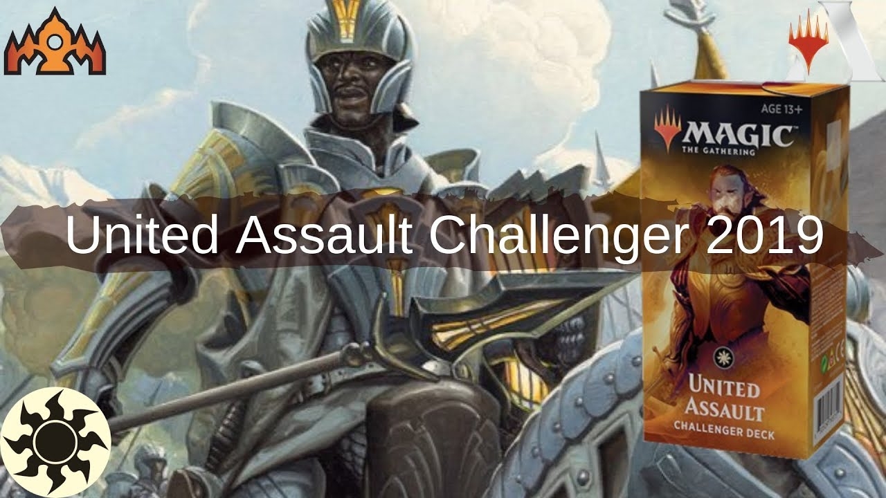 Playing United Assault Challenger Deck in MtG Arena | Mono-white Aggro 2019  Deck Tech and Gameplay