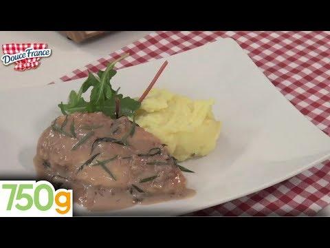 recette-du-poulet-à-l'estragon---750g