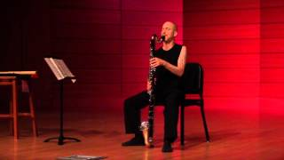 Bass Clarinet Blues Improvisation solo by Cornelius Boots live in Mississippi