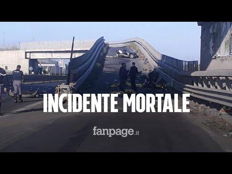 Auto contro spartitraffico, incidente mortale nella notte a Belpasso: morti 4 giovani