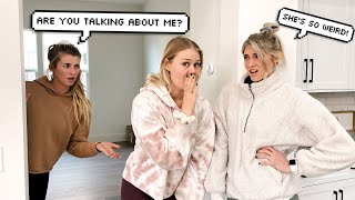 TALKING BEHIND MY BEST FRIENDS BACK TO SEE HOW SHE REACTS... *Awkward*