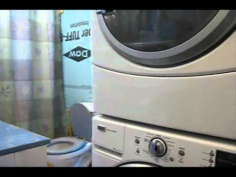 Installing a washer dryer stacking kit YouTube