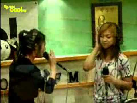 100611 f(x) Luna Krystal Sorry (Dear. Daddy) Narsha's Raise the Volume Radio