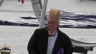 Bello Nock at the Florida State Fair 2019 Bello the Clown AGT