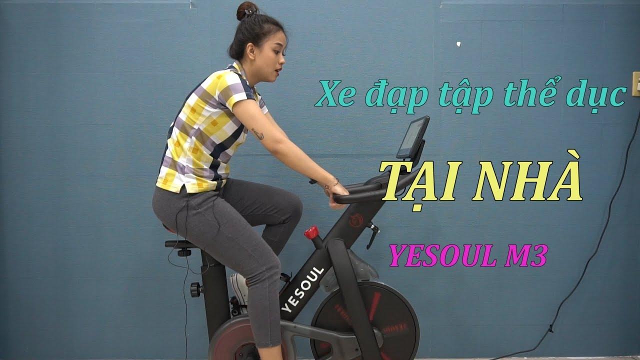 Xe đạp tập thể dục tại nhà YESOUL M3