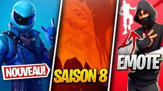 A SAISON VOLCAN 8? BACK OF THE HONOR SKIN - MORE on FORTNITE! (Fortnite News)