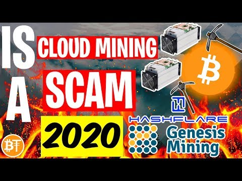 Is Cloud Mining A SCAM In 2020? -Genesis Mining, Hashflare..