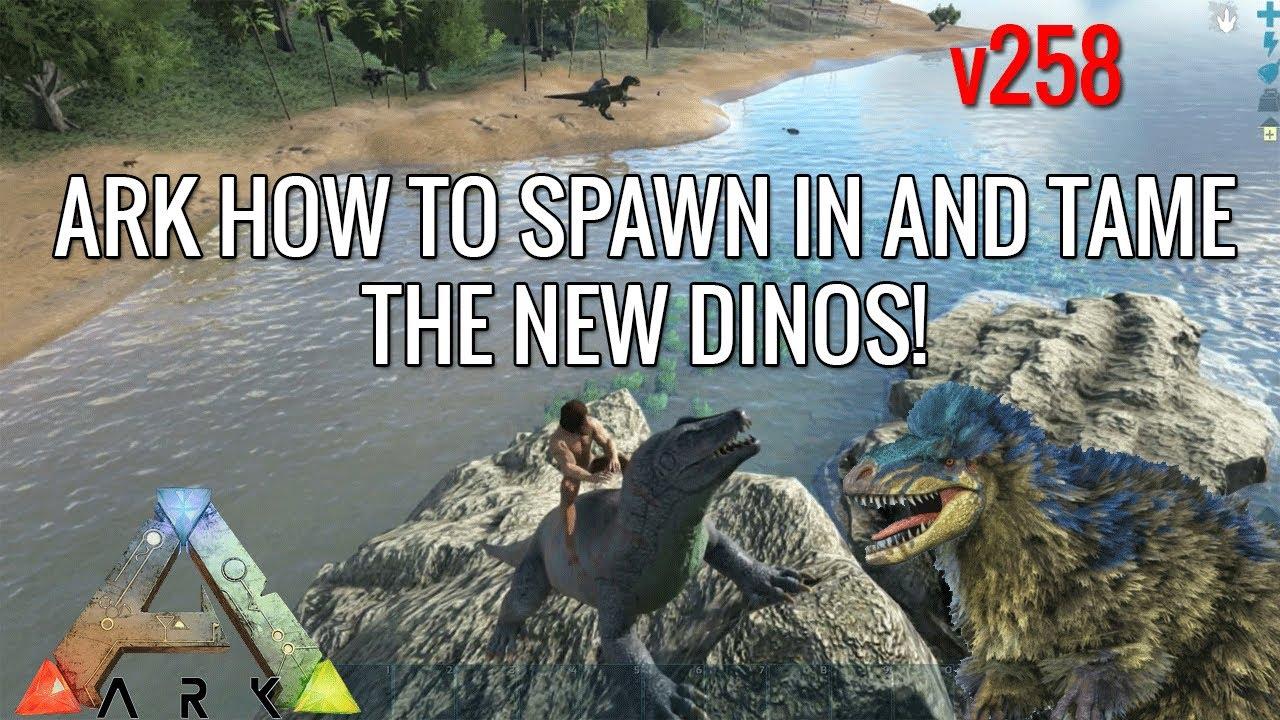 Comment spawn un dino ark