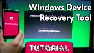 Windows Device Recovery Tool | Ripristinare Windows Phone 8.1