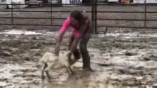 Muddy Goat Tying Wreck