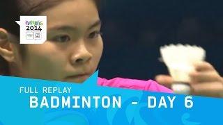 Badminton - Men/Women Single, Mixed, Doubles Bronze | Full Replay | Nanjing 2014 Youth Olympic Games