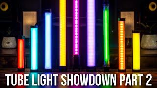 Ultimate RGB Tube Light Comparison & Review: Part 2 (Godox TL30/TL60, FalconEyes IRISA, SGC, Iwata)