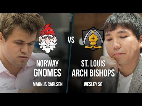 PRO Chess League Final: Magnus Carlsen's Gnomes vs Wesley So's Arch Bishops