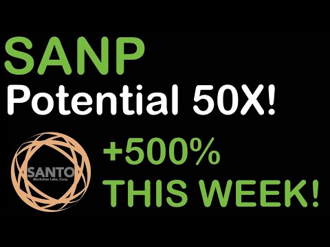 SANP STOCK SKYROCKETING RIGHT NOW! UP 500%!! POTENTIAL 50X!! Santo Mining Stock Analysis and Update