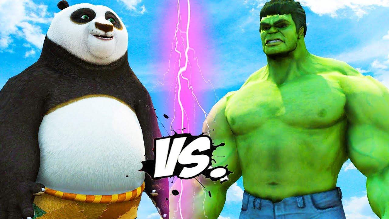Download Hulk vs Po - Kung Fu Panda