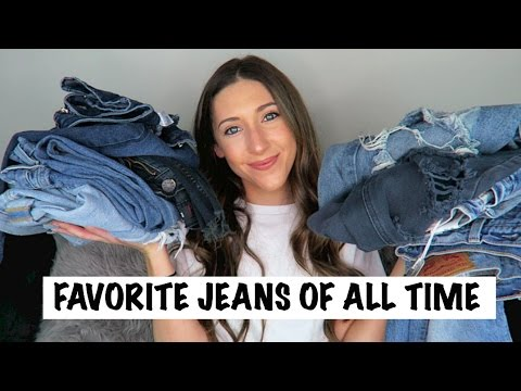 MY FAVORITE HIGH END + LOW END JEANS || ALL ABOUT DENIM