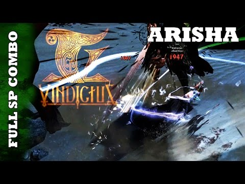 Vindictus - The Silver Witch's Full SP Combo; Arisha