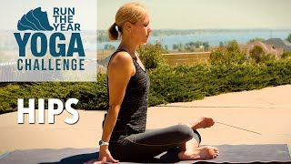 Hips: Run the Year Yoga Challenge with Five Parks Yoga