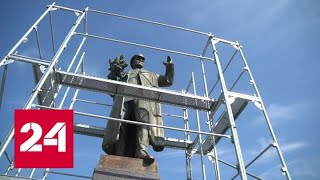 Скандал вокруг памятника российскому маршалу Коневу выходит на дипломатический уровень - Россия 24