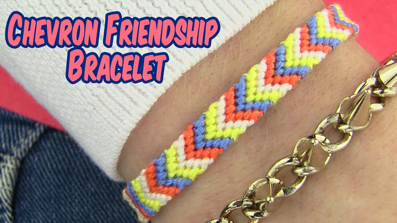 bands how watch friendship to diy pattern bracelets diagonal make youtube beginners
