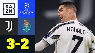 Aus für CR7 - Oliveira Mann der Verlängerung: Juventus - FC Porto 3:2 |UEFA Champions League