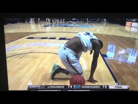 Ben Bentil tip-in leads Providence to 74-72 win over Rhode Island , Dec. 2015