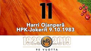 Joulukalenteri #11: Harri Ojanperä, HPK:n ensimmäinen SM-liigakausi