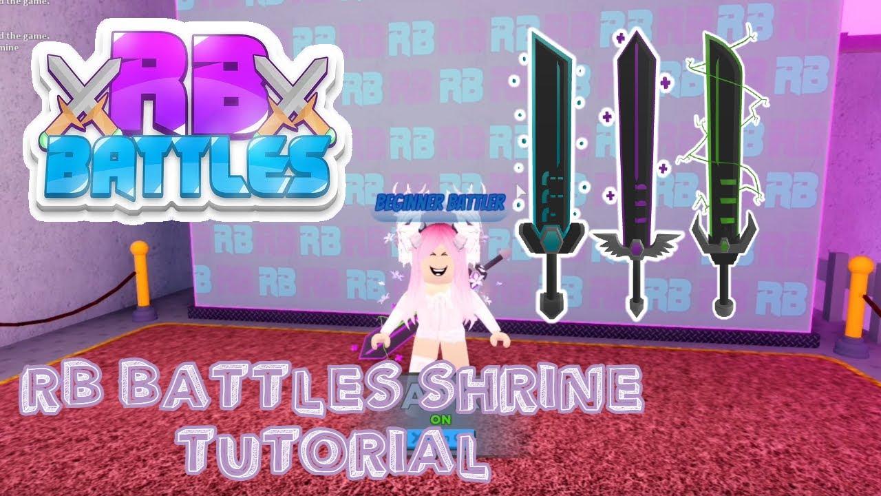 Download How to unlock RB Battle Shrine Swords Tutorial (Full Guide) | Roblox RB Battles