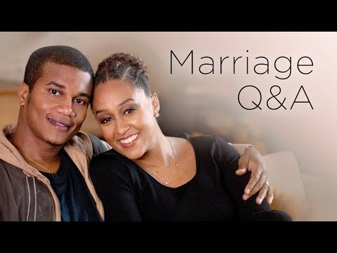 Tia Mowry and Cory Hardrict Marriage Q&A   Quick Fix