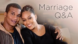 NEWFACE MAGAZINE LV MEDIA FEATURING: Tia Mowry and Cory Hardrict Marriage Q&A | Quick Fix