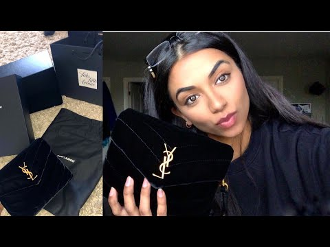 saint-laurent-(ysl)-toy-lou-lou-bag-unbox/review